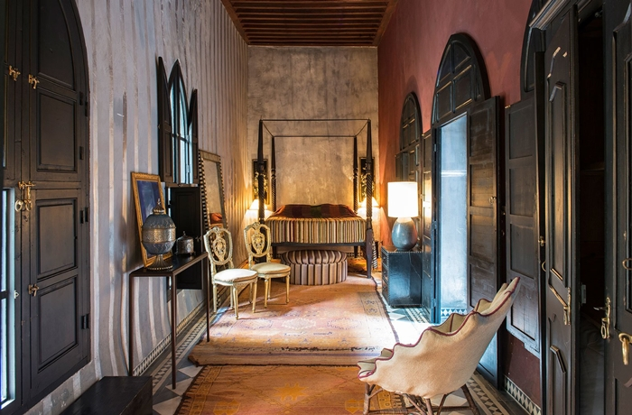 Hotels für die Flitterwochen: Eine romantische Suite im Dar Darma in Marrakesch