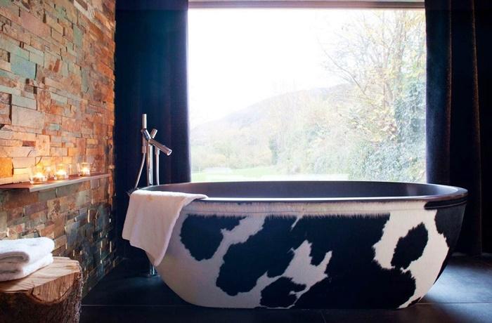 Freistehende Badewannen: Interessantes Design im Hotel La Chaumière