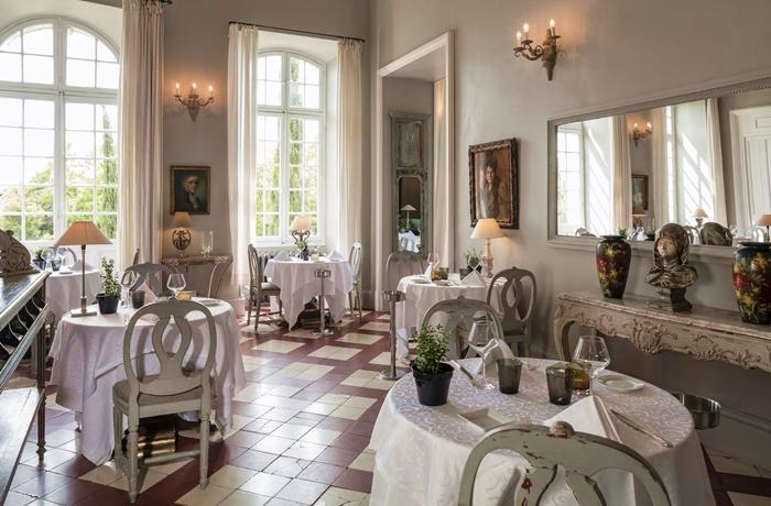 Silvester-Essen: Französische Kochkunst gibt es im Château de Mazan
