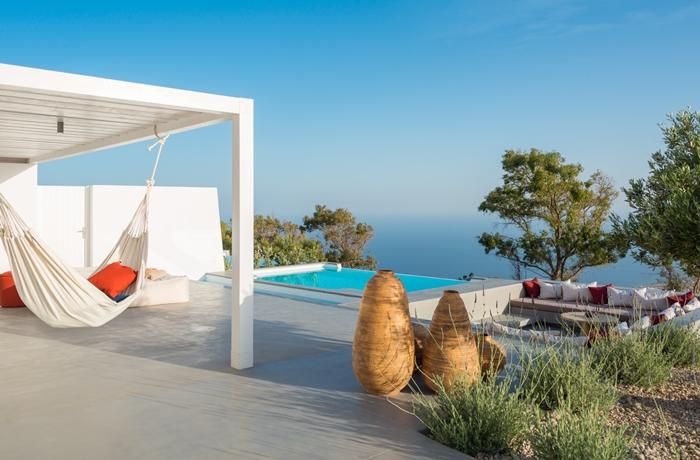 Hotels für Erwachsene: Sonnenterrasse mit Infinity Pool, Santorini Heights, Santorini, Griechenland