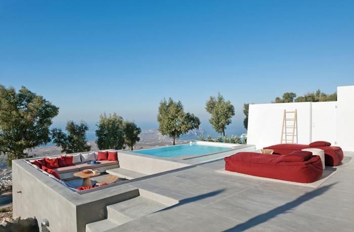 Hip, modern und mit ganz viel Privatsphäre: Die Suiten im Hotel Santorini Heights