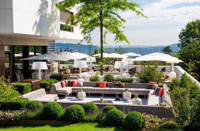 10 Wellnesshotels in Ihrer Nähe: Atlantis by Giardino, Außenansicht Restaurantterrasse