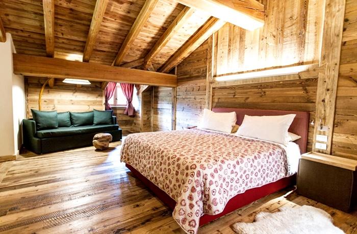 Einzigartige Skihotels: Hotelzimmer im Chalet Eden, Aostatal, Italien