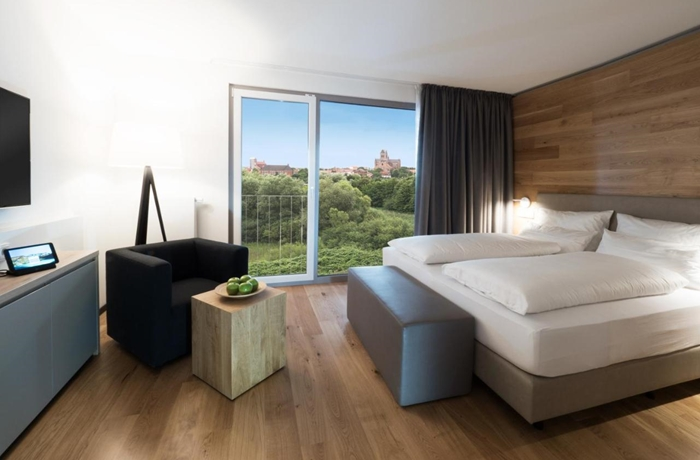 Das komfortable Familienzimmer im WONNEMAR Resort