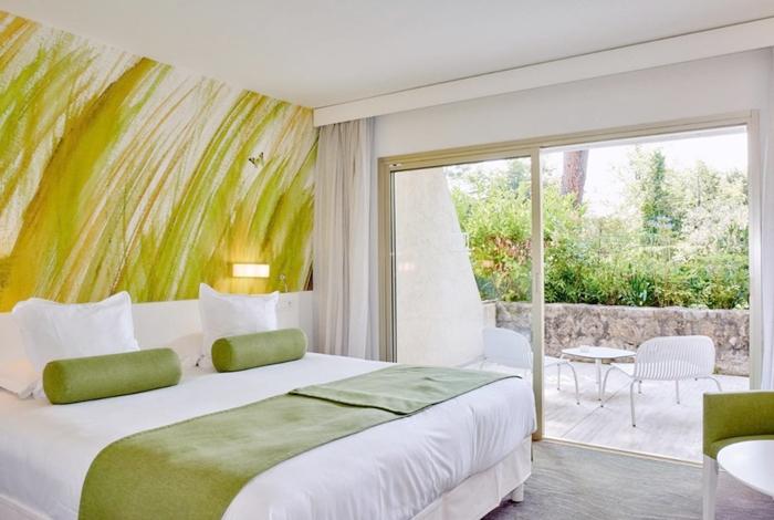 Modern und gemütlich: Die Zimmer im Hotel La Vague de Saint Paul