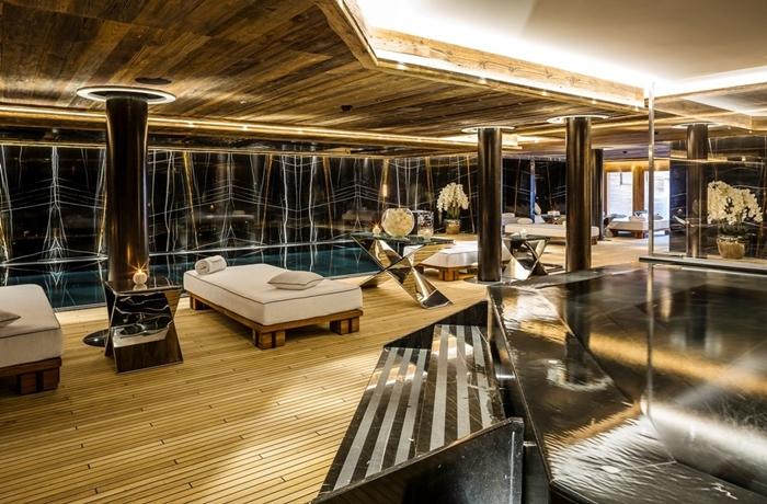 Unsere teuersten Hotels: Der riesige Wellnessbereich im Ultima Gstaad ist unvergleichlich stylish