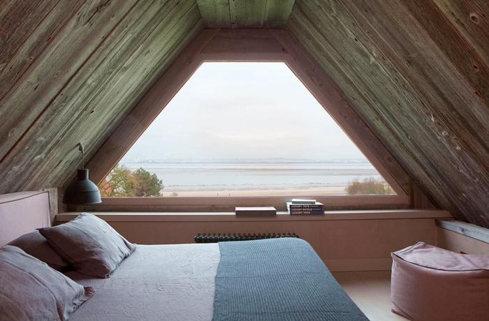 Romantische Hotelzimmer: Auch hier hat man einen tollen Ausblick – auf die Weiten des atlantischen Ozeans.