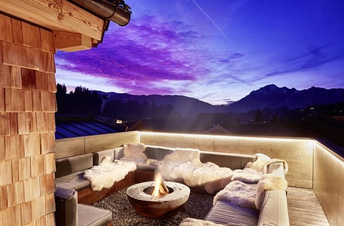 Hotels für die Flitterwochen: Atemberaubender Himmel über dem Eder - Lifestyle Hotel