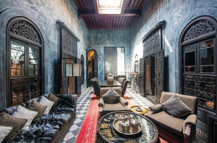 Wohninspiration hotels im orient stil for Kissen orientalischen stil