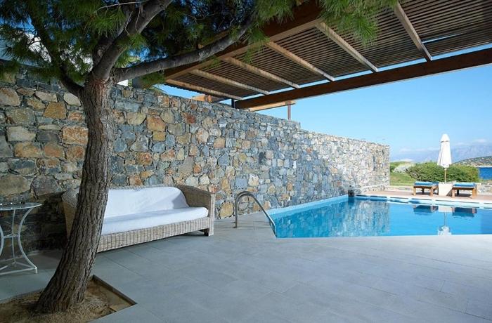 Luxushotel in Griechenland mit privaten Pools: St. Nicolas Bay Resort Hotel & Villas