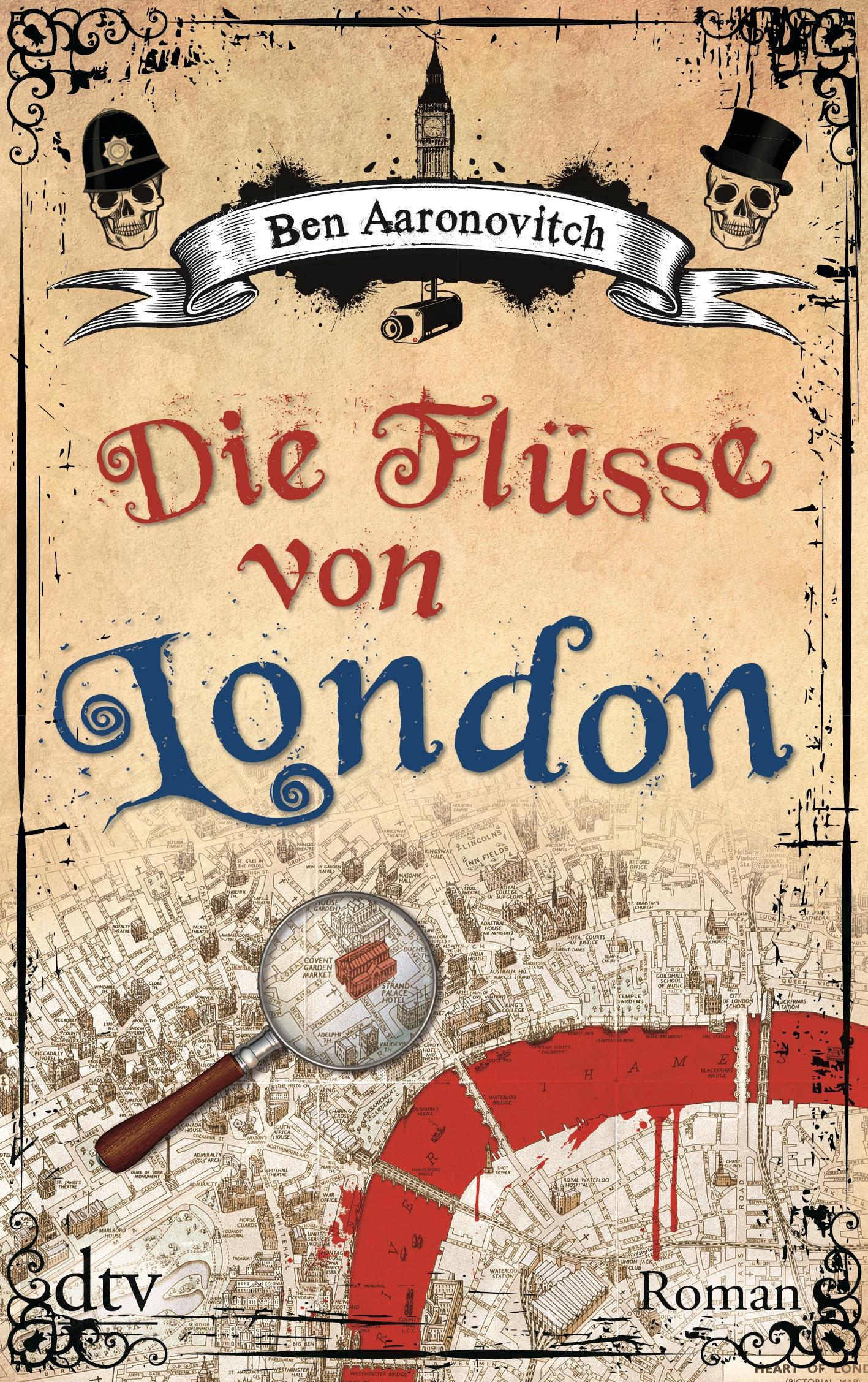 Reiselektüre: Die Flüsse von London von Ben Aaronovitch