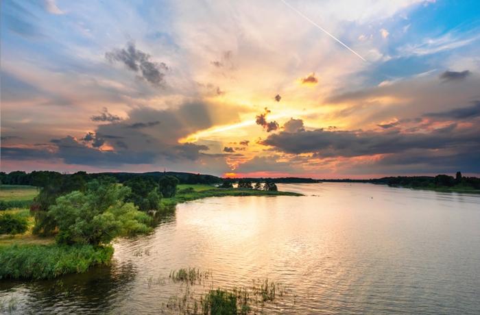 Die ruhige Landschaft ist das ideale Reiseziel für Ruhesuchende