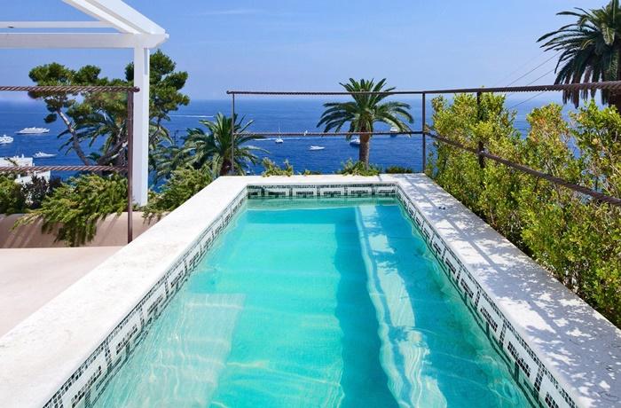 Luxushotels am Meer: Pool-Suite mit Blick auf den Hafen im Villa Marina Capri Hotel & Spa, Capri, Italien