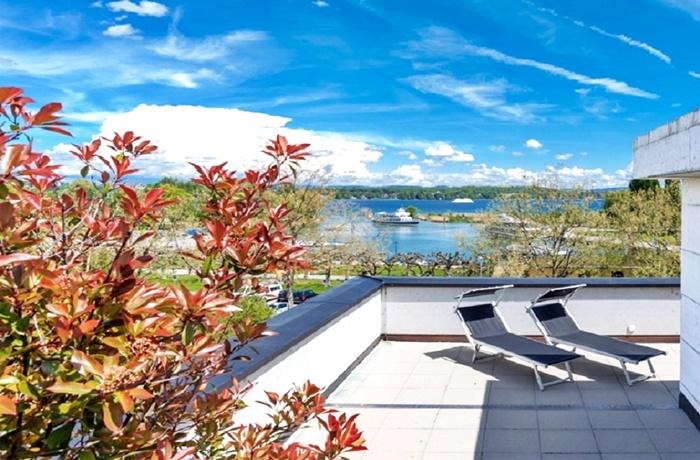 Das Hotel ist ein guter Startpunkt für viele Aktivitäten am und auf dem Bodensee