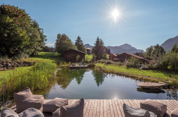 10 besten Wellnesshotels in Ihrer Nähe: Hotel Oberstdorf, Außenansicht vom See