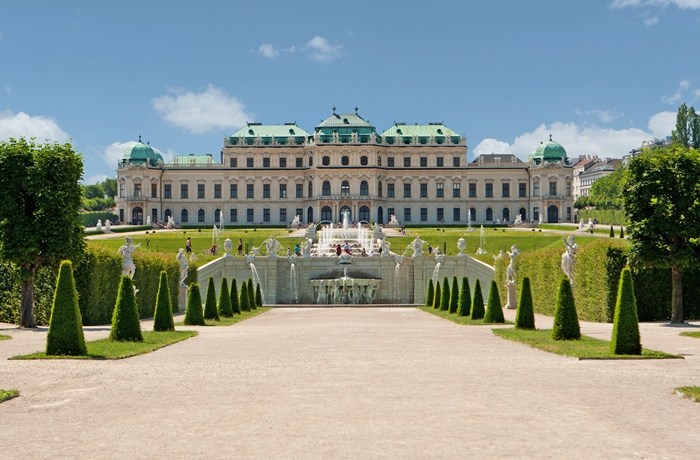 Zu den Reisetrends 2020 gehört ganz klar Wien. Hier sieht man das Schloss Belvedere.