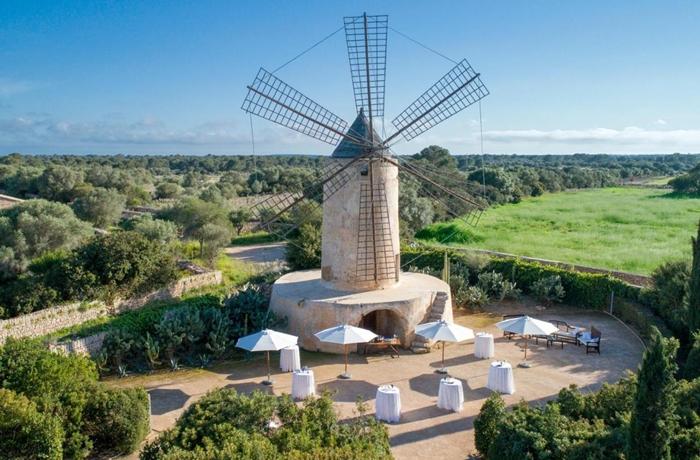 Hotels für die Flitterwochen: In dieser Mühle kann man seine Hochzeit feiern