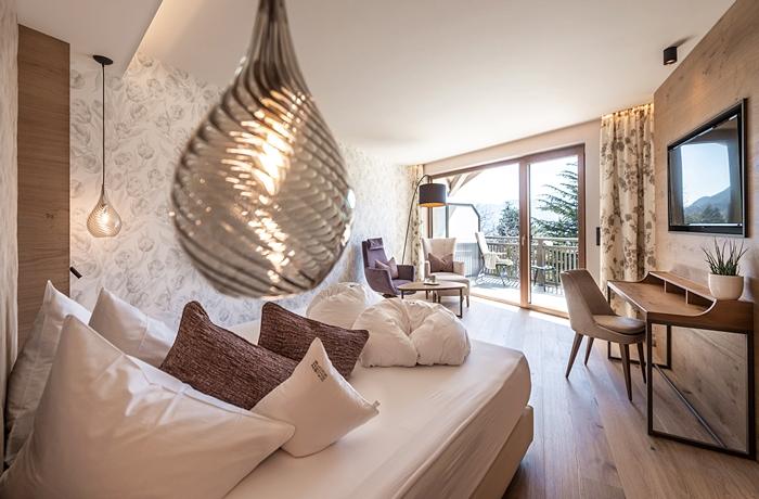 Hell und freundlich sind die frisch renovierten Zimmer & Suiten