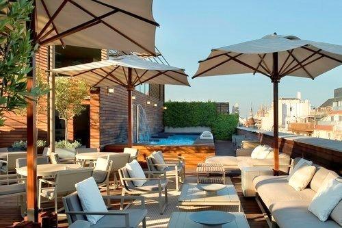 Sterne Hotel Aus Dem  Jahrhundert Barcelona