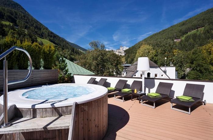 Ein Kundenliebling – der Drumlerhof mit Dachterrasse in Südtirol