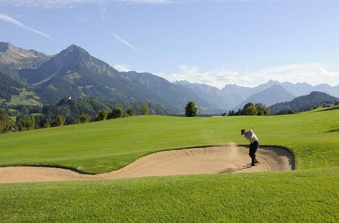 Sonnenalp Resort im Oberallgäu: Zahlreiche Golfplätze befinden sich in der näheren Umgebung
