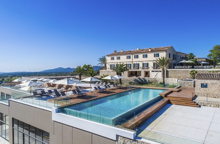 Carrossa Hotel Spa Villas Poolblick
