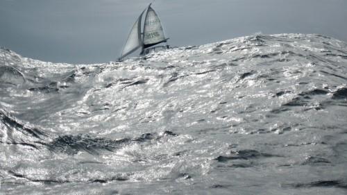 Lothar Schoenen_Katamaran an Nordküste von Mauritius