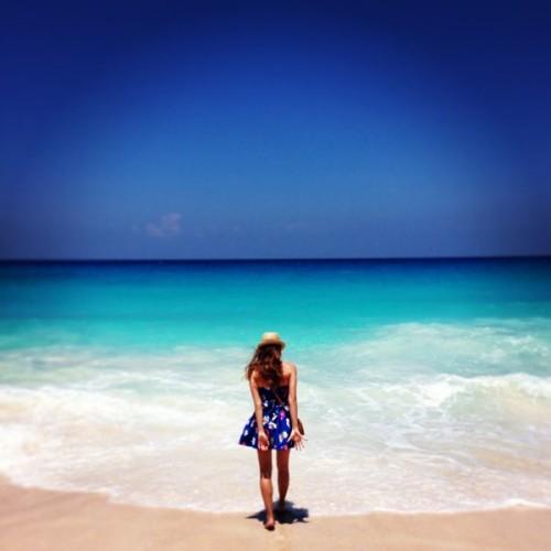 Melinda Bachmeier_Takamaka Strand, Seychellen