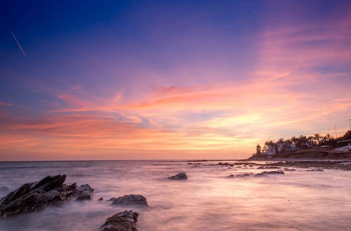 Strandhotels in Andalusien: Zum Beispiel hier an der Costa del Sol