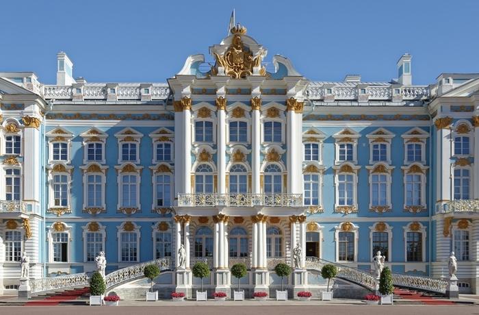 Der Katharinenpalast in St. Petersburg gehört zu den Sightseeing-Zielen Nr.1!