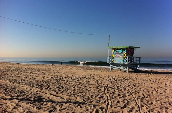 Reisetrends 2020: Der Strand und die Promenade von Venice Beach ist ein weltberühmtes Reiseziel