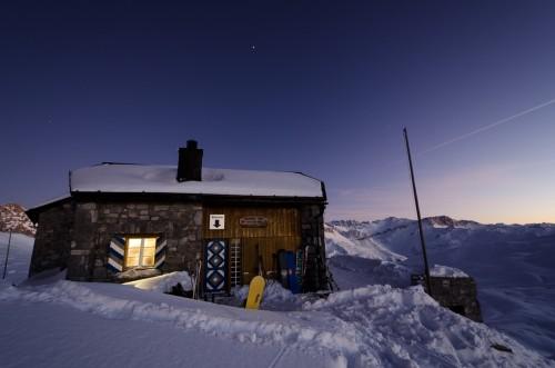 Thilo Pollak_Carschina Hütte, Alpen, Schweiz