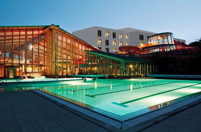 Die Wasserwelt im WONNEMAR Resort